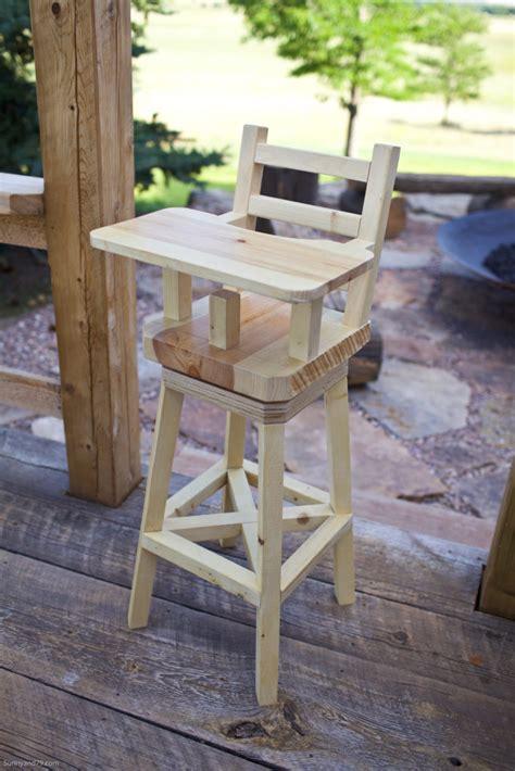 Diy farmhouse high chair Image