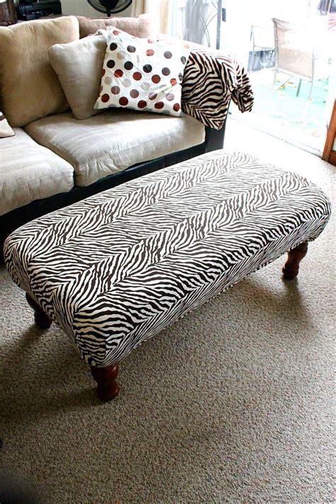 Diy furniture ottoman Image