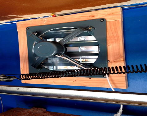 Diy garage vent fan Image