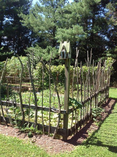 Diy Garden Fencing Ideas Image