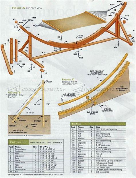 Diy hammock plans Image