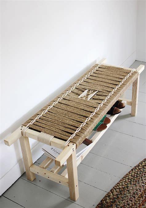 Diy jute bench Image