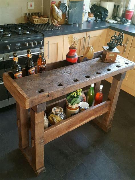 Diy kitchen prep table Image