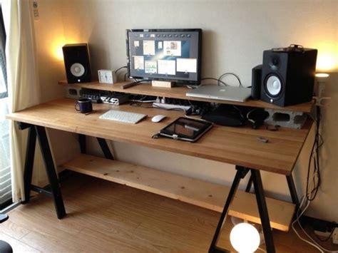Diy music workstation desk Image