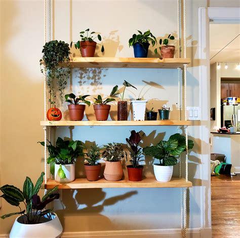 Diy plant shelf Image