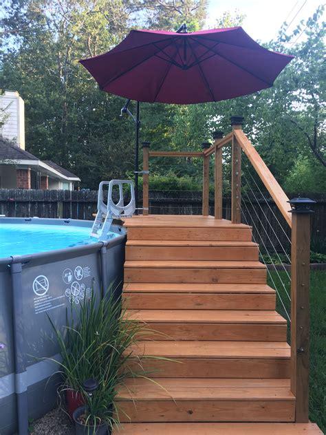 Diy pool deck Image