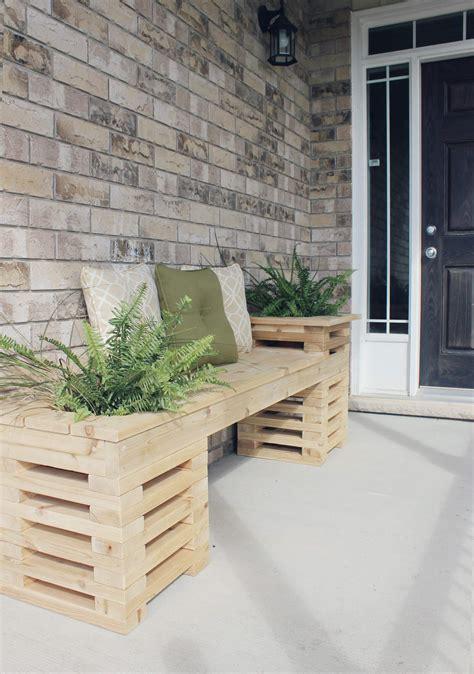 Diy porch bench Image