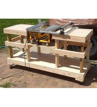 Diy Portable Table Saw Cabinet Plans