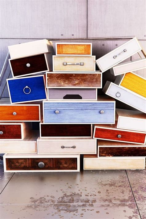 Diy projects using dresser drawers Image