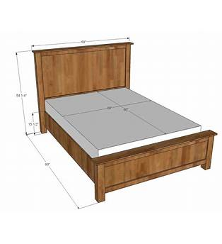 Diy Queen Size Bed Frame Plan