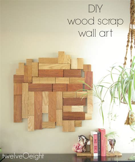 Diy scrap wood wall art Image