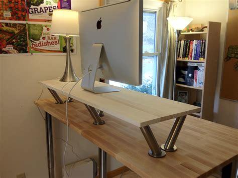 Diy stand up desk ikea Image