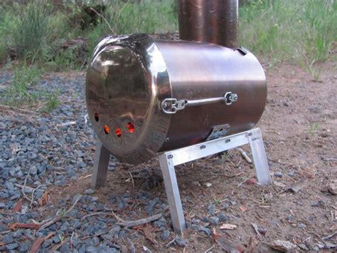 Diy tent wood stove Image