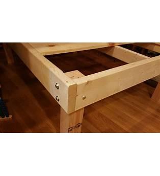 Diy Timberframe Bed Frame Plans