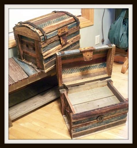 Diy treasure chest wood Image
