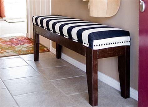 Diy upholstered bench Image