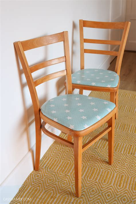 Diy upholstered kitchen chair Image