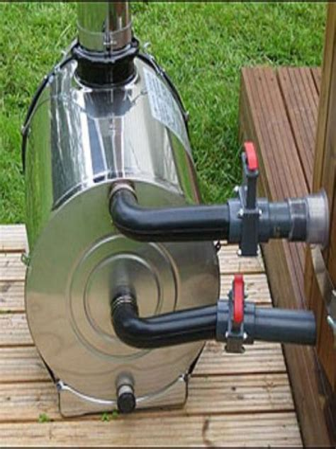 Diy water heater wood stove Image