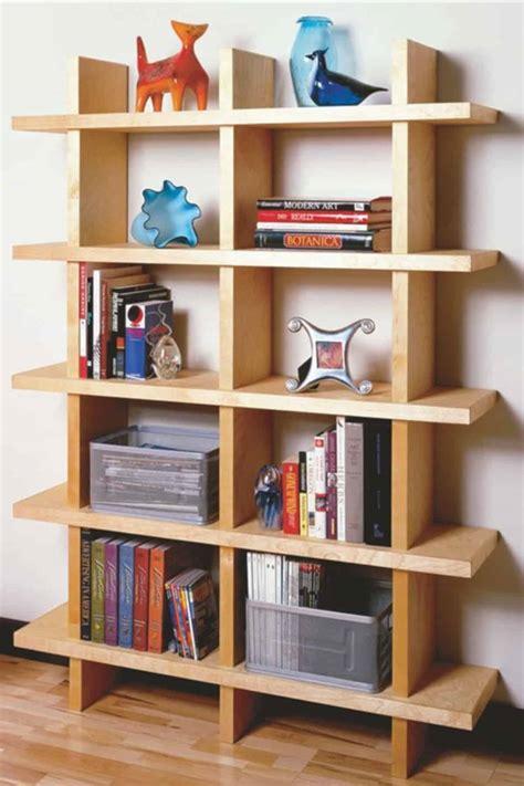 Diy wood bookshelf Image