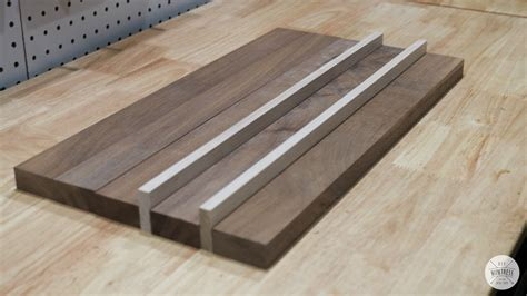Diy wood cutting board Image