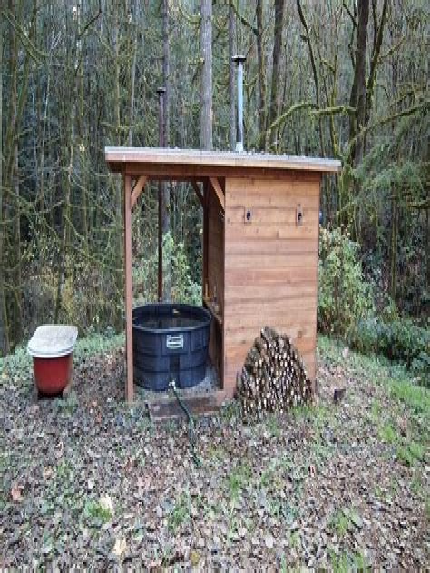 Diy wood fired sauna Image