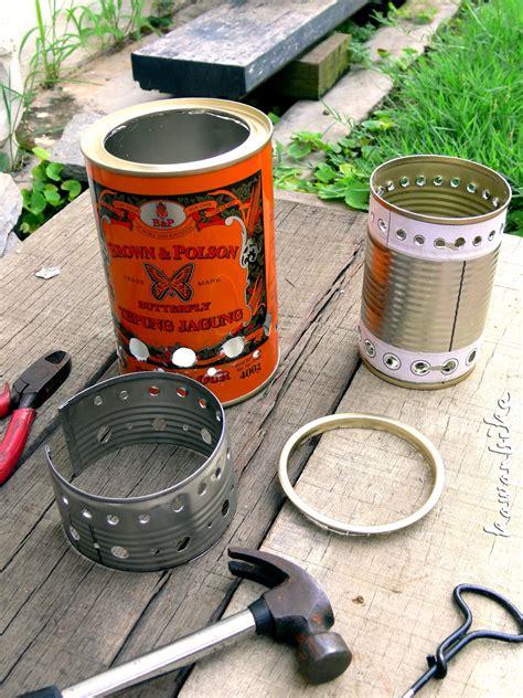 Diy wood gas stove Image