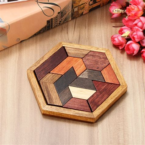 Diy wood puzzle Image