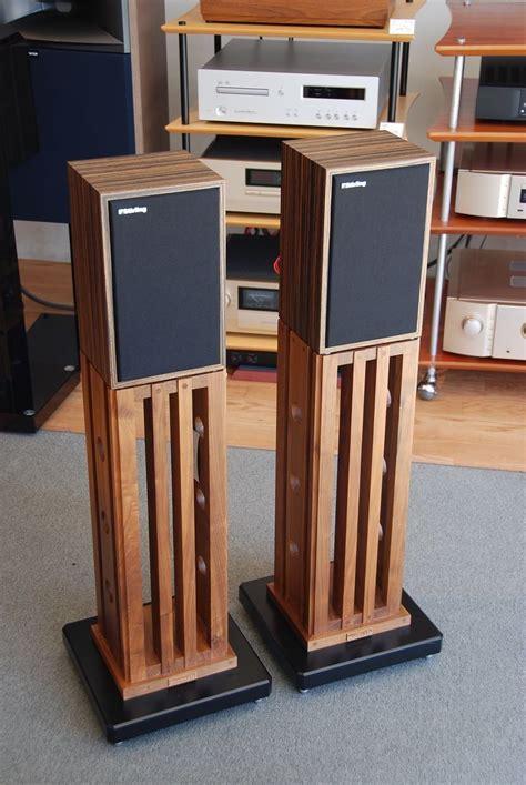 Diy wood speaker stands Image