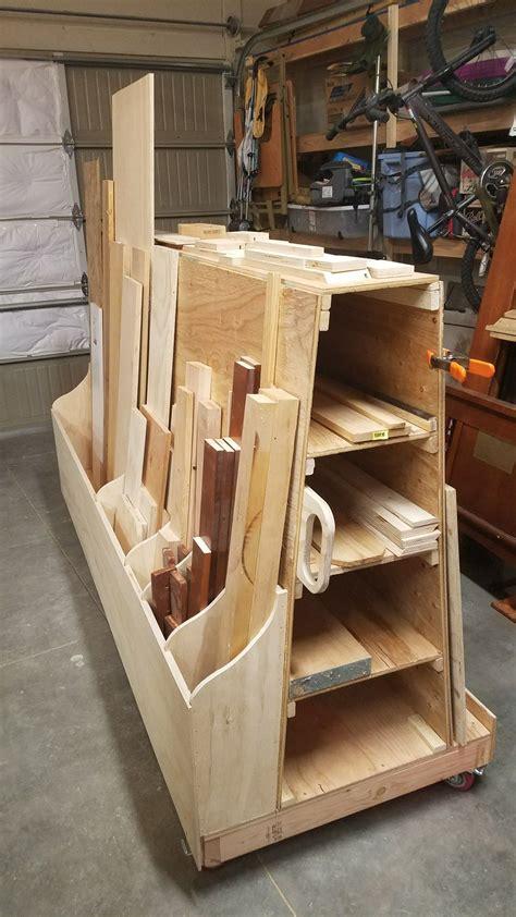 Diy wood storage Image