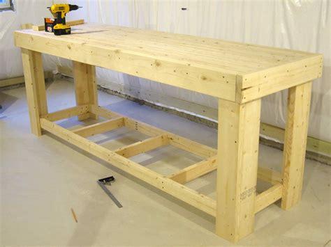 Diy wood workbench Image