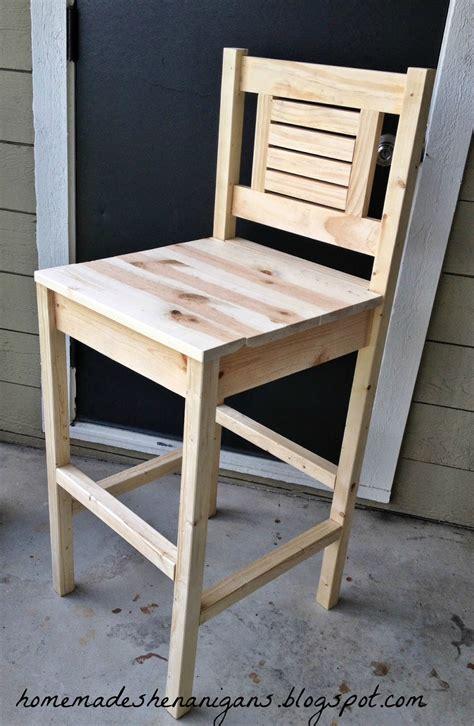 Diy wooden bar stools Image