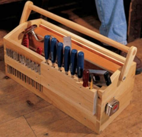 Diy wooden tool chest Image