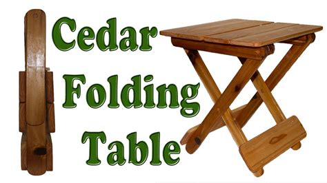 Diy woodworking how to make a folding table Image