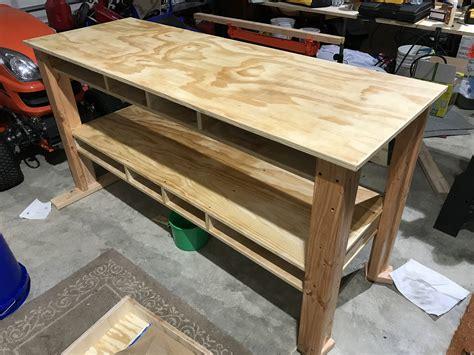 Diy workbench drawers Image