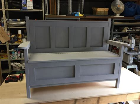 Do it yourself storage bench plans Image