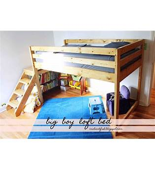 Do It Yourself Toddler Bed Plans