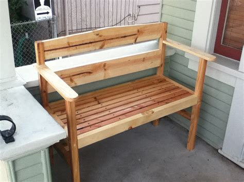 Do it yourself wood bench plans Image
