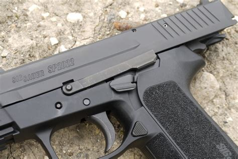 Sig-Sauer Does The Sig Sauer Sp2022 Have A Mim Trigger.