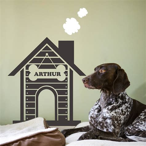 dog house wall sticker