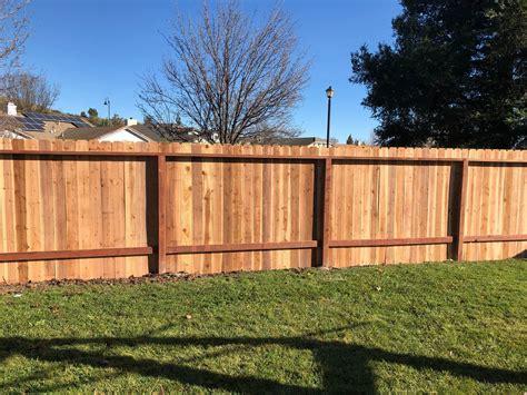 Dog ear fence Image