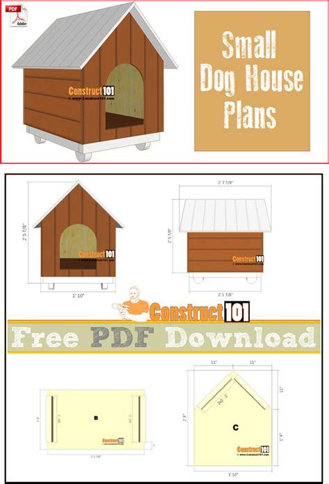 Dog house plans pdf Image