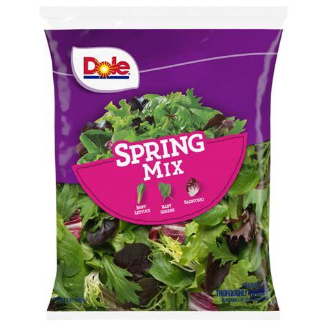 Dole Organic Salad Kit Spring Mix Salad