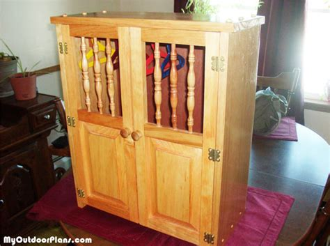 Doll armoire woodworking plans Image
