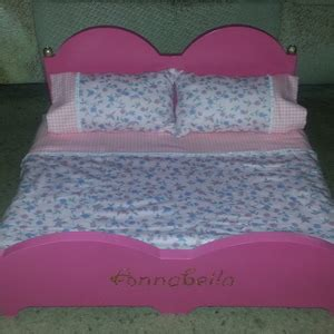 Doll bed for 18 inch dolls Image