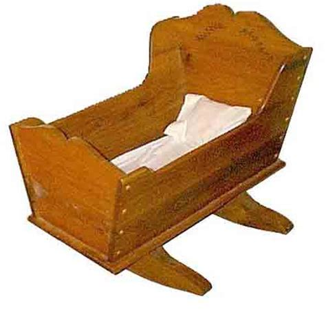 Doll cradle woodworking plans Image
