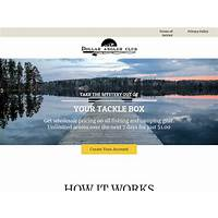 Dollar angler club does it work?
