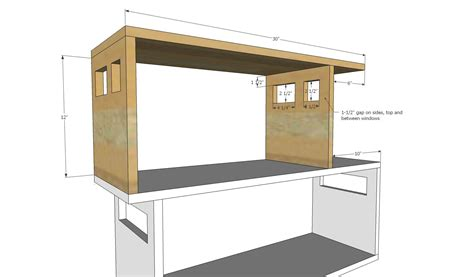 Dollhouse bookcase woodworking plans Image