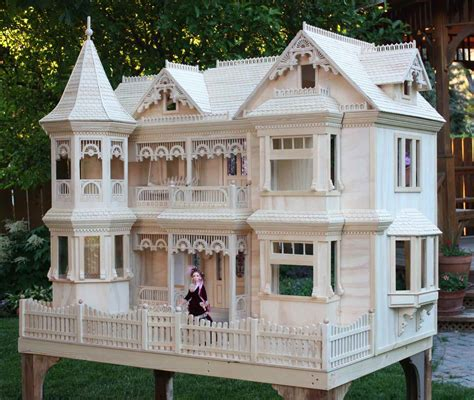 Dollhouse woodworking plans Image