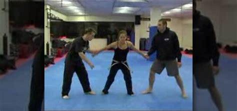 Double Arm Grab Self Defense