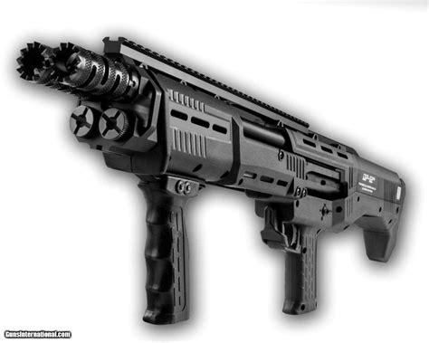 Double Barrel Automatic Shotgun